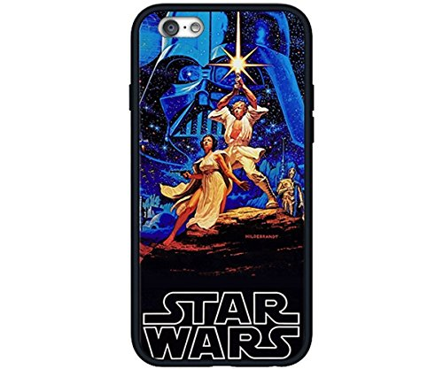 (Star Wars Darth Vader BB8 Storm Trooper Yoda -Rubber Case for Apple iPhone 6 Plus, 6S Plus (5.5