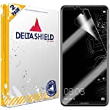 DeltaShield Huawei Mate 10 Pro Screen Protector [2-Pack], BodyArmor Full Coverage Screen Protector for Huawei Mate 10 Pro Military-Grade Clear HD Anti-Bubble Film
