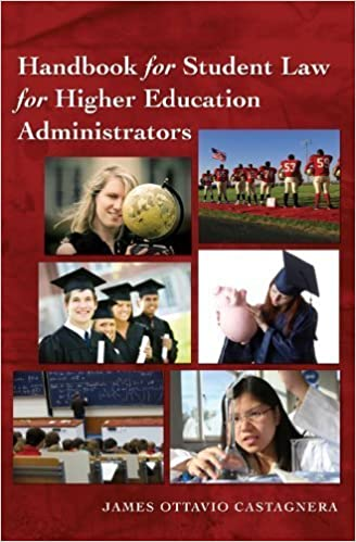Book Handbook for Student Law for Higher Education Administrators (Education Management) by James Ottavio Castagnera (2010-03-09)