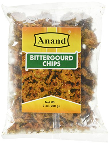 Bitter Gourd (Karela) Chips - Spicy! 7.04 Oz by Anand