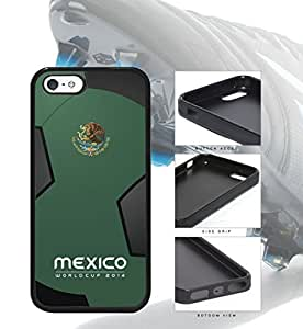 Mexico World Cup 2014 Professional Soccer Sports pc pc Case Cover iPhone 5 5s