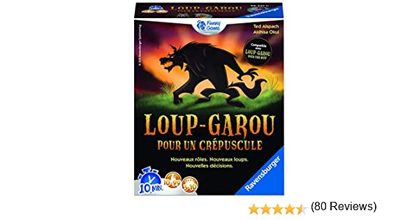 Ravensburger 267316, Juego de Cartas y Fichas Hombre Lobo para Crepúsculo: Amazon.es: Juguetes y juegos