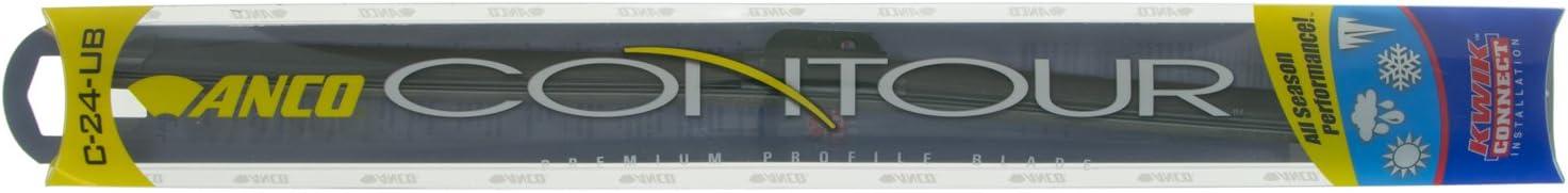 "ANCO C-24-UB Contour Wiper Blade - 24"", (Pack of 1)"