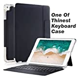 Valkit Bluetooth Keyboard for iPad Pro 10.5, iPad Pro 10.5 Keyboard Case, Wireless Smart Stand Protective Shockproof Heavy Duty Impact Back Cover for Apple iPad Pro 10.5 Inch, Black