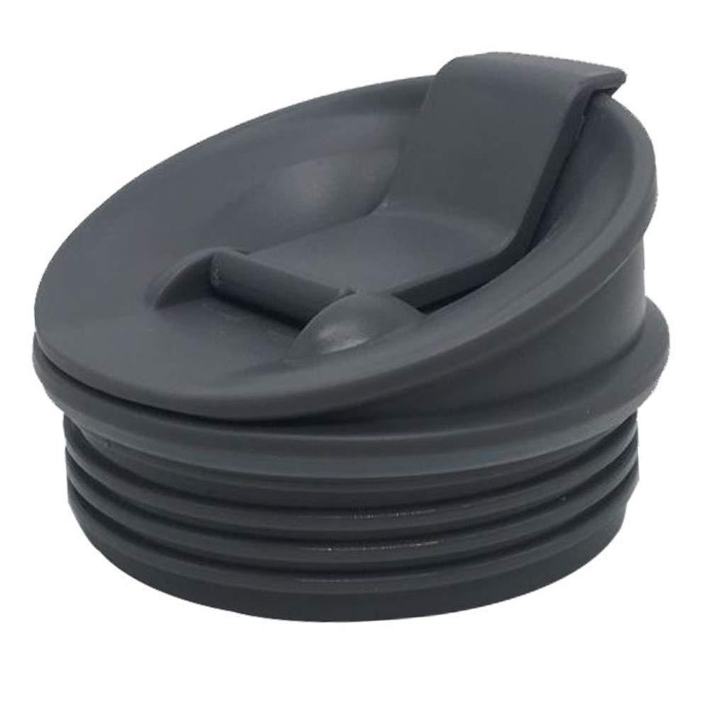 Grey 1 piece Sip & Seal Lid for Nutri Ninja 16 OZ CUP with BL200/BL201/BL660/BL663/BL663CO/BL665Q/BL771/BL773CO/BL810/BL820/BL830/QB3000/QB3000SSW/QB3004/QB3005