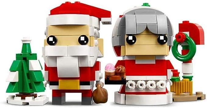 Lego Signor E Signora Babbo Natale 40274: Amazon.it: Giochi e giocattoli