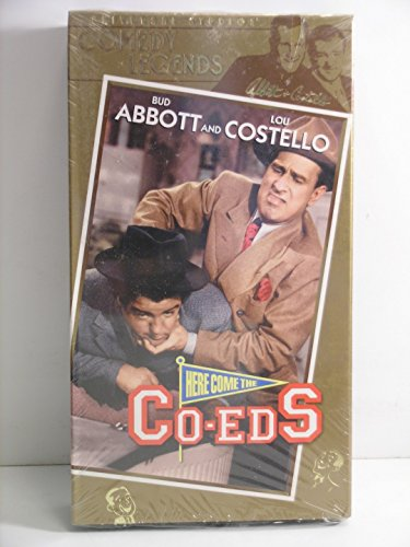 Bud Abbott and Lou Costello---Here Come The Co-eds---VHS Video Tape