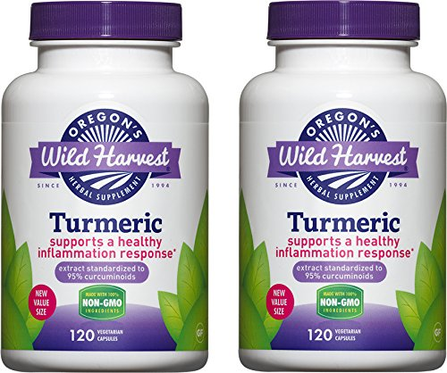 2 PACK: Turmeric - 120 ct by Oregon's Wild Harvest