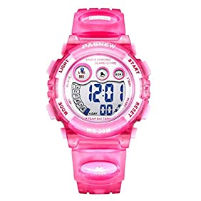 Dayllon Kids outdoor Sports Wrist Watch Boys Girls LED Digital Quartz Wacthes for 5-12 Years Old Children