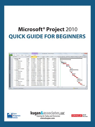 Microsoft Project 2010 Quick Guide for Beginners Pdf