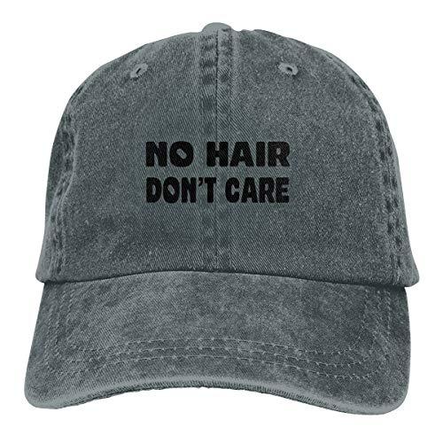 OAbear Baseball Caps No Hair Don't Care Adjustable Cotton and Denim Cowboy Hat,Low Profile Jeans Cap Hat for Men Women (Deep Heather)]()