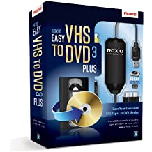 Roxio Easy VHS to DVD 3 Plus Video Converter for PC