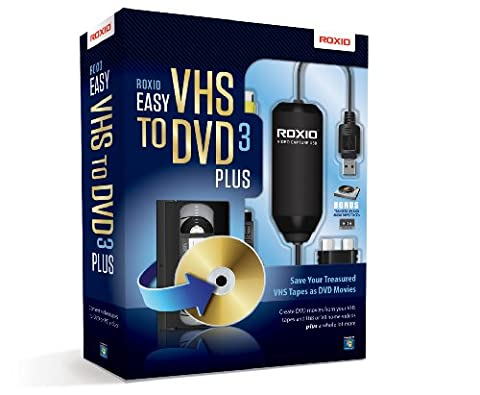 Easy VHS to DVD 3 Plus (Roxio Products)