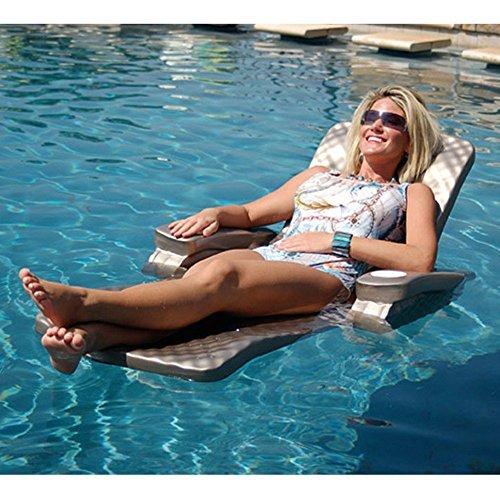 TRC Recreation Baja II Folding Lounge, Aquamarine