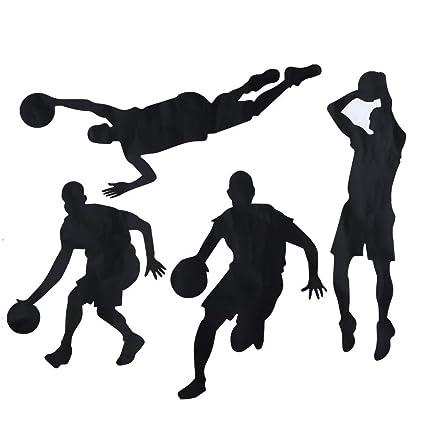 eea1dd9b636 STORE-HOMER - 1pcs Basketball Inspirational Wall Stickers Home ...