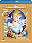 Cover Image for 'Cinderella (Three-Disc Diamond Edition: Blu-ray/DVD + Digital Copy)'