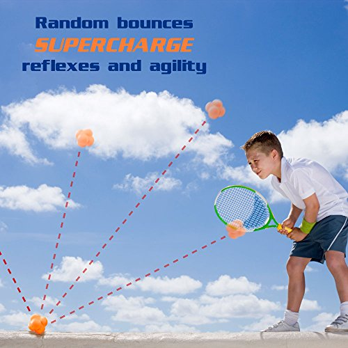 Hi Bounce Reaction Ball Agility Trainer by Crown Sporting Goods