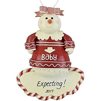 Amazoncom Expecting MothertoBe Personalized Christmas Ornament