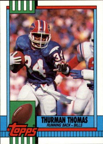 1990 Topps Football Card #206 Thurman Thomas ()