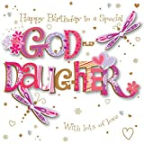 to a special godson happy birthday have a great day card and