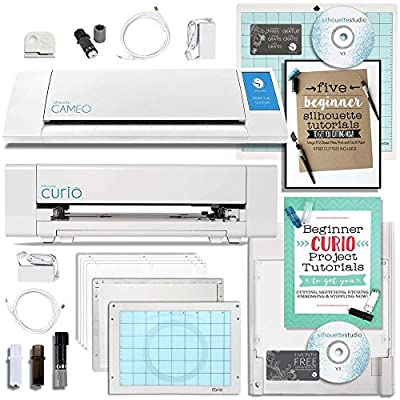 Silhouette Cameo 2 Machine and Curio Machine Bundle
