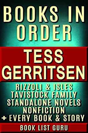 Tess Gerritsen Books in Order: Rizzoli and Isles series