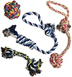 Image of Otterly Pets Puppy Dog Pet Rope Toys For Small to Medium Dogs (Set of 4)