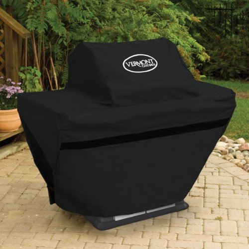 Vermont Castings Deluxe BBQ Cover for 4 Burner Signature Series Grills (Deluxe Barbeque Grill Cover)