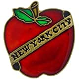 New York City Big Apple Pin 1""