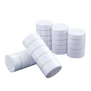HaiYC Toallas Desechables comprimidas, 1 Paquete de Toallas de algodón Suave, duraderas, Reutilizables