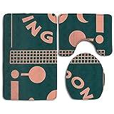 ZOUBA Ping Pong Easy Clean Yoga Mat Fashion-forward Exercise Mat