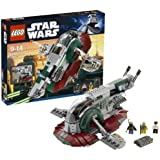 Lego Star Wars Slave I 1 8097 NEW With 3 Minifigures Boba Fett Han Solo Bossk