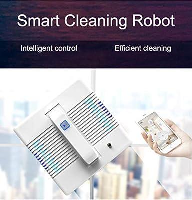 WUAZ Limpieza de Cristales de la Ventana del Robot Robot Limpiador de Ventana Robot Aspiradora Robot de Limpieza de Cristal: Amazon.es: Hogar