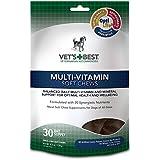 Vet's Best Multi-Vitamin Soft Chews Dog Supplements, 30 Day Supply
