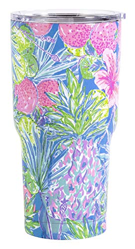 Lilly Pulitzer Insulated Tumbler Swizzle In One Size from Lilly Pulitzer