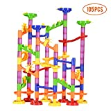 Kyпить Vamslove Marble Run Sets, 105 Pieces Marble STEM Games Construction Building Blocks Marble Run Toys for Kids 4 5 6 + Year Old Boys Girls на Amazon.com