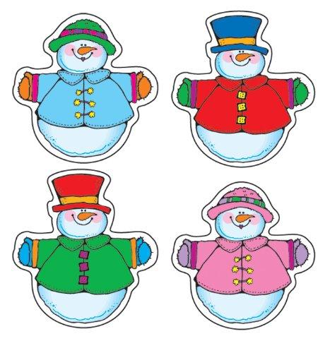 (Snow Pals Shape Stickers)