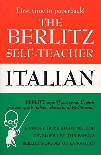 Alphabet Language Italian (The Berlitz Self-Teacher -- Italian: A Unique Home-Study Method Developed by the Famous Berlitz Schools of Language (Berlitz Self-Teachers))