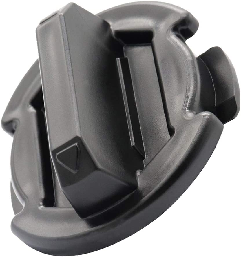 2pcs Twist Floor Drain Plug Trap Seal Replacement for Polaris RZR XP 1000 900 XP 4 Turbo 2014-2017 Black