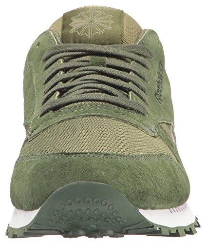 Reebok Heren Cl Lederen Clip Ele Mode Sneaker Mosgroen / Oer Groen / C