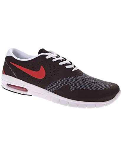 on sale 2c86f f2d65 Amazon.com: NIKE Men's Eric Koston 2 Max Running Shoe Black/University Red  8.5 D(M) US: Sports & Outdoors