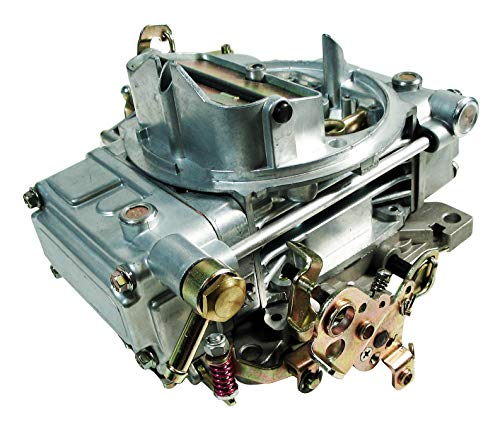 NEW 4 BARREL 4160 GAS CARBURETOR,MANUAL CHOKE,600 CFM,VACUUM SECONDARY,0-1850C