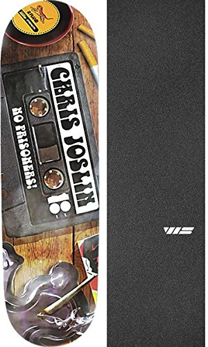 Plan B Skateboards Chris Joslin Mix Tape Skateboard Deck Black Ice - 8.375