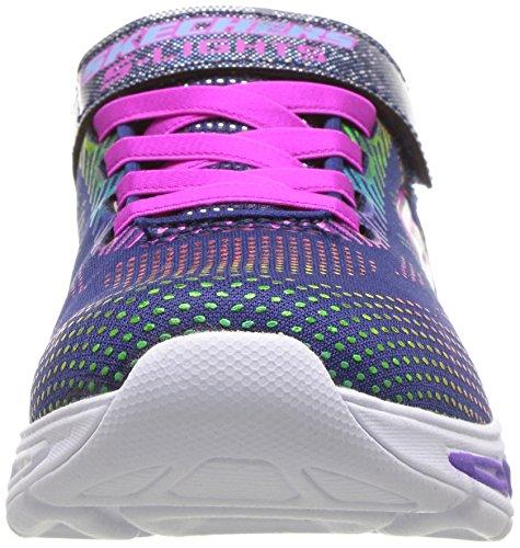 Skechers Kids Girls' Litebeams-Gleam N'DREAM Sneaker, Navy/Multi, 2.5 Medium US Little by Skechers (Image #4)