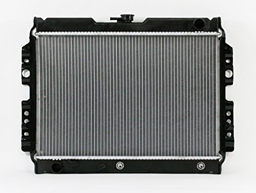- Radiator - Pacific Best Inc For/Fit 1258 '84,'86-'93 Mazda B2000 Pickup AT 4CY 2.0L w/TOC Plastic Tank Aluminum Core