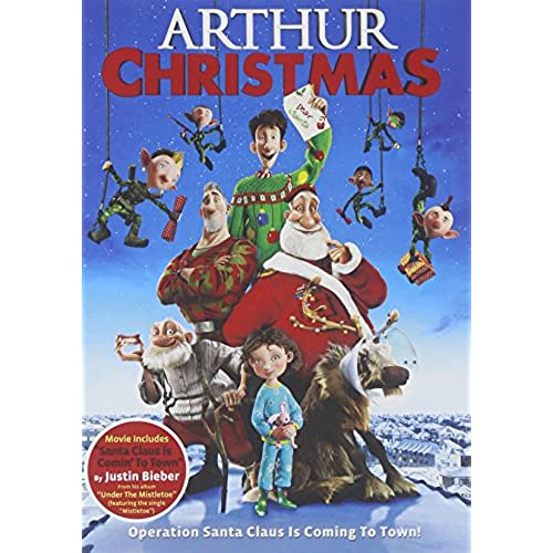 arthur christmas - Animated Christmas Movies