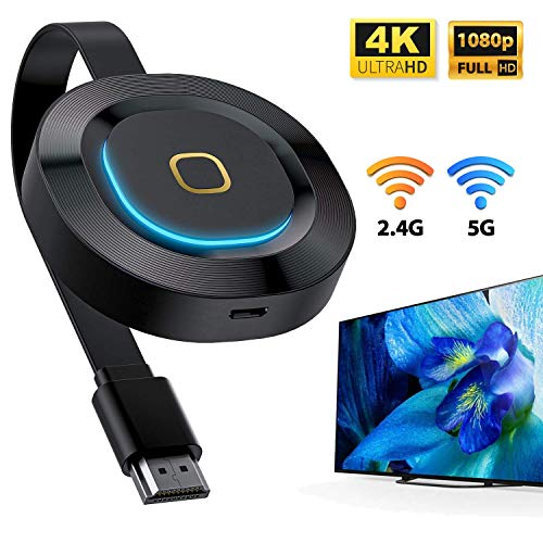 Fantastic Deal! VIBIRIT Wireless WiFi Display Dongle HDMI,5G+2.4GHz Display Adapter 1080P 4K TV Scre...