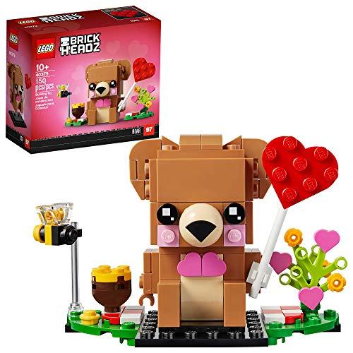 🥇 LEGO BrickHeadz Valentine's Bear 40379 Building Kit