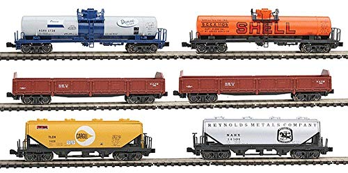 Kato KAT1066275 N Mixed Freight Car Set (6) for sale  Delivered anywhere in USA