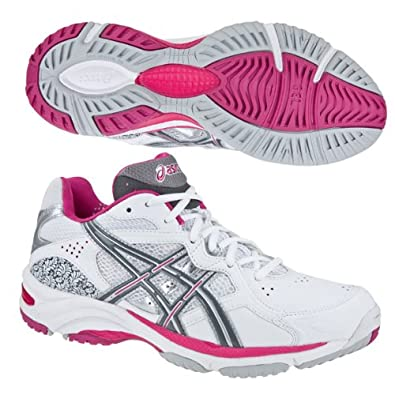 junior asics netball trainers